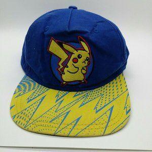 Pokemon Pikachu Youth Baseball Cap Boys Snapback